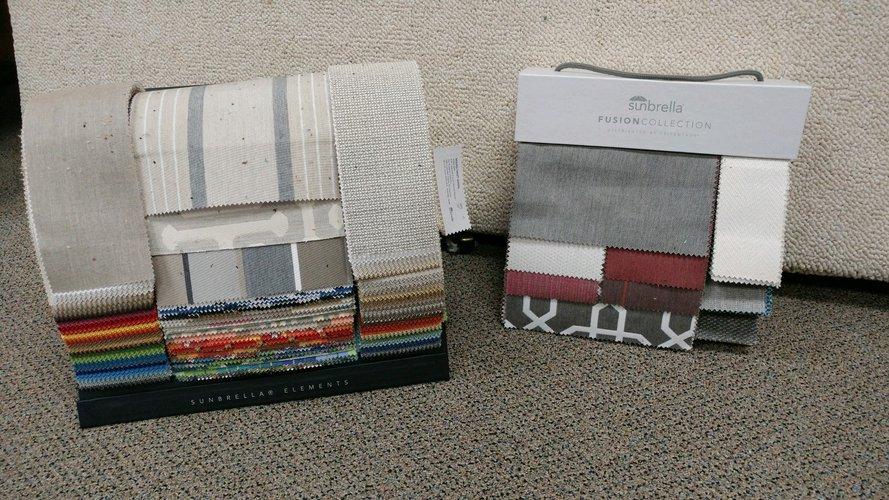 All Sunbrella Elements and Fusion Book Fabrics