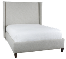 #58 Upholstered Bed