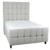 FB2 Tufted Footboard shown with 52 Headboard