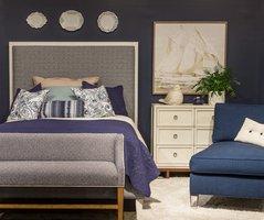 Navy 60 bed