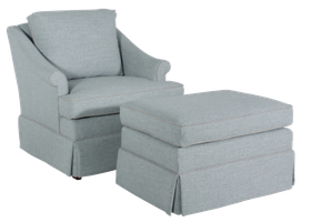 442 Chair and 44 Ottoman