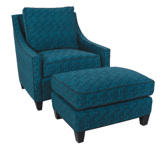 175 Chair and 75 Ottoman