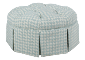 580 Tufted Hassock