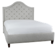 #61 Upholstered Bed