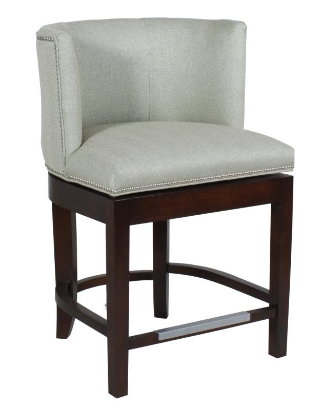 finest selection 54533 a901f 642C Counter Height Swivel Barstool - Cox Manufacturing
